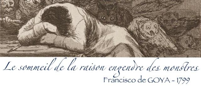 Sommeil de la raison- Goya - 799