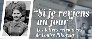 Lettres retrouvées Louise Pikovsky