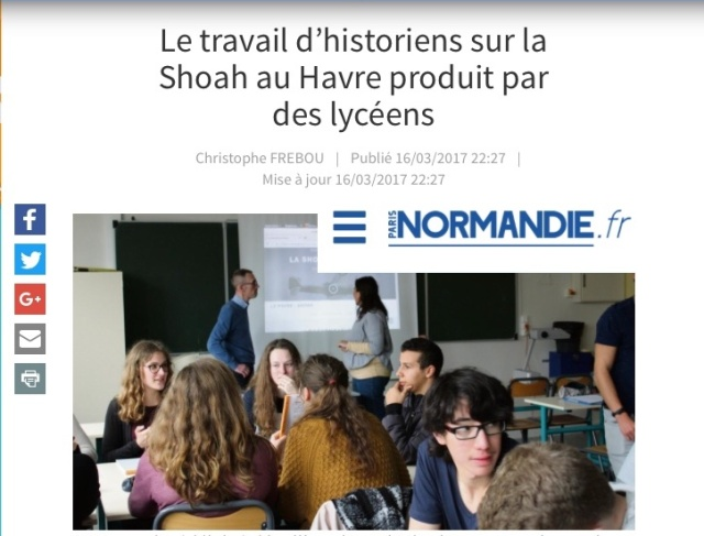 Article paris Normandie