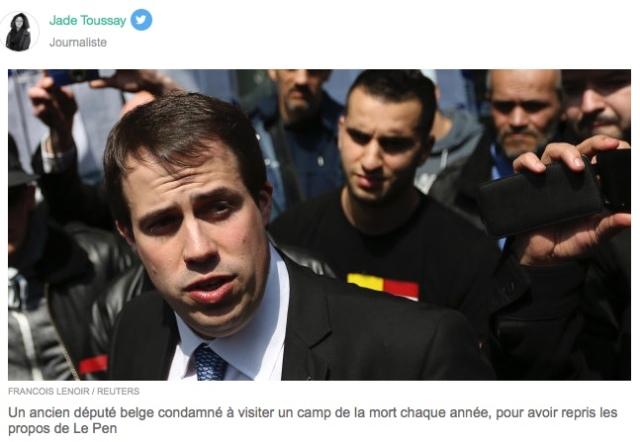 Condamnation négationnisme Belgique