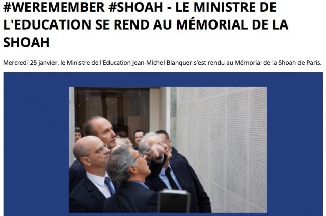Blanquer-Memorial Shoah.jpeg