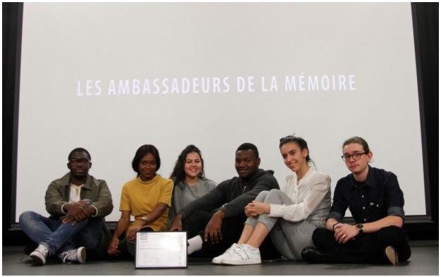 Lycéen Drancy Ambassadeurs de la mémoire