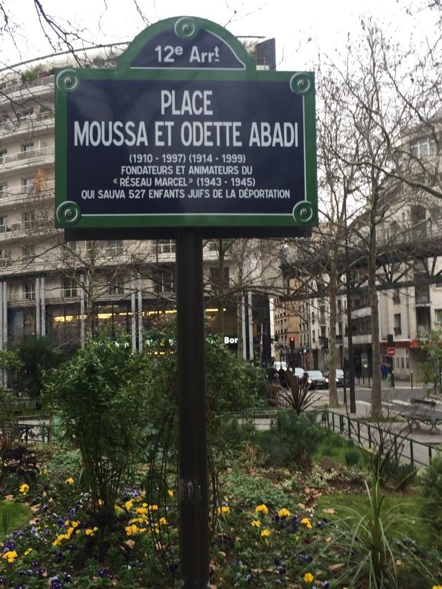 Place Moussa et Odette ABADI