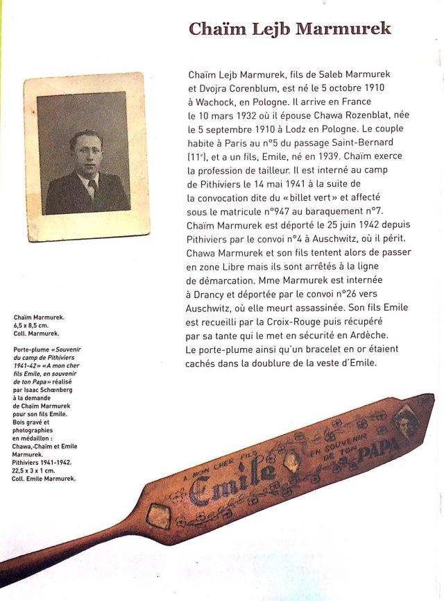 Émile MARMUREK - Le porte-plume_1