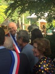 Cérémonie Elie Wiesel 2019 et buste